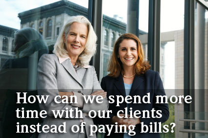 Can you pay my bills while I work with clients?